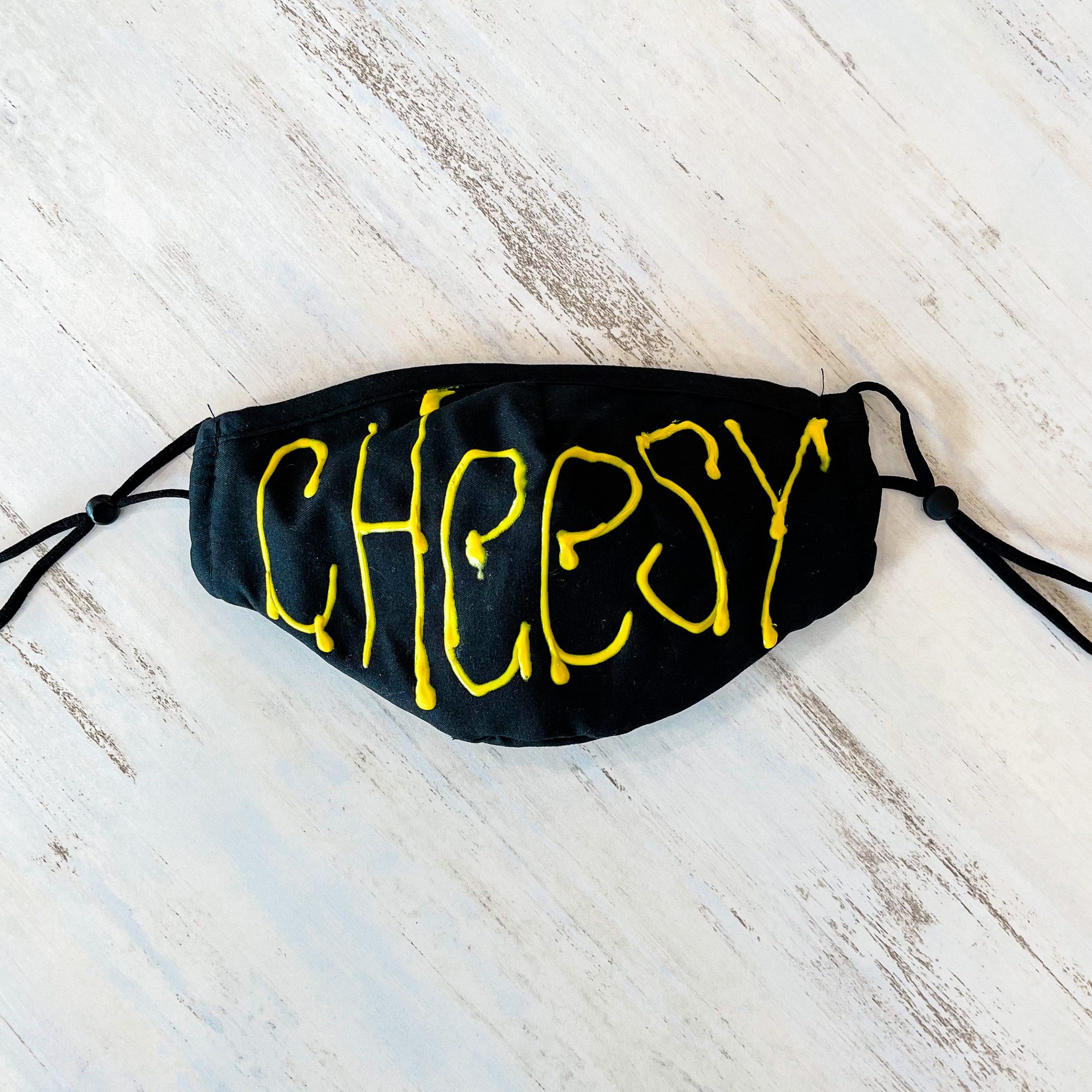 Cheesy Drip Mask